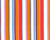 SALE- Flights of Fancy- Beach Stripe in Summer, 1 yard