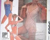 McCall's 9089 Bathing Suit 3 styles sz 16 thru 20