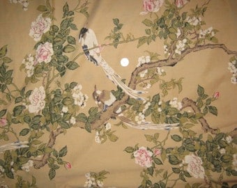 Full   fitted   bed sheet  Birds On Branch