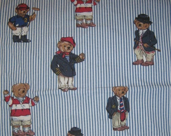Ralph Lauren  Polo Teddy Bear Pillowcase