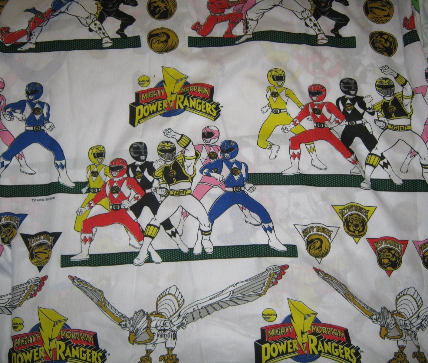 Power Ranger Sheets Bedding