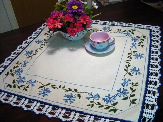 Beautiful Blue Flower Topper