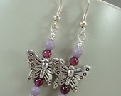 Vienna Lace Butterfly Earrings