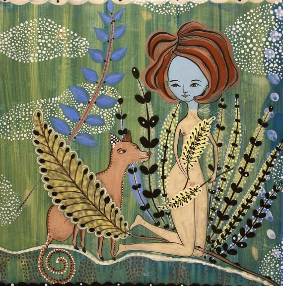 Special - Amazing Print - Fern Garden - A Print by Jenny Mendes