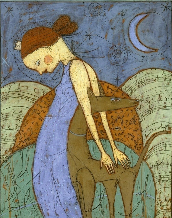 Evening Queen - Jenny Mendes Giclee Print - Limited Edition