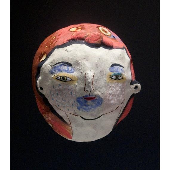 Spirit Mask - Summer - Ceramic Face Mask