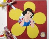 Disney Autograph Book Princess Snow White Mini Album