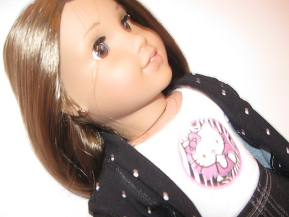 American Girl Doll Clothes--Hello Kitty