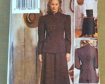 Butterick Making History Costume Sewing Pattern, Size 6,8,10,