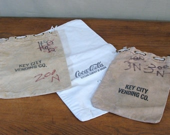 Vintage Bank Bags, Cloth, Collection of Three