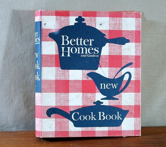 Better Homes And Gardens New Cook Book 1962 By Tagsalefinds
