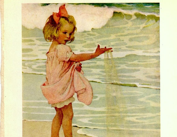 RESERVED FOR PEGGY Vintage Print by Jessie Willcox Smith, 1910