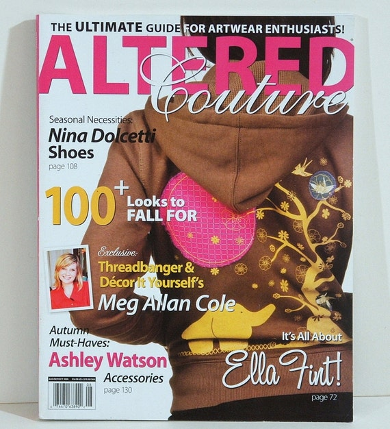 Altered Couture Magazine Aug Sep Oct 2009