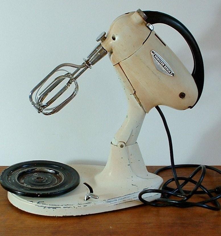 Vintage Hamilton Beach Mixer Model G by TagSaleFinds on Etsy