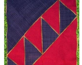 Weaving Pattern - Zigzag Throw