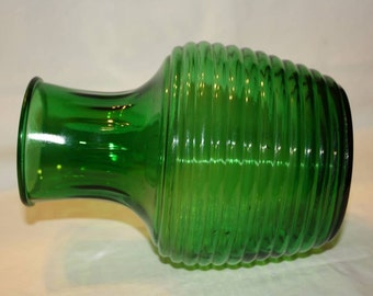 50% Off Anchor Hocking Forest Green Water Decanter