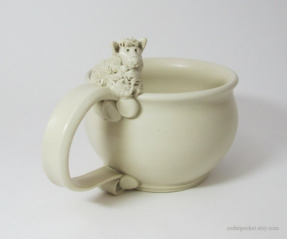 Spin a yarn while Sipping your  Morning Joe - Sheep Mug