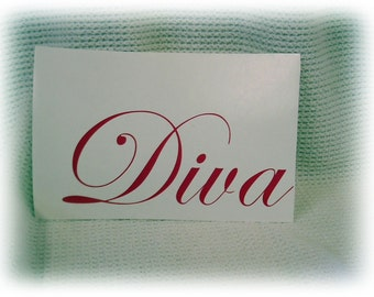 Any word custom personalized decal sticker you pick the word
