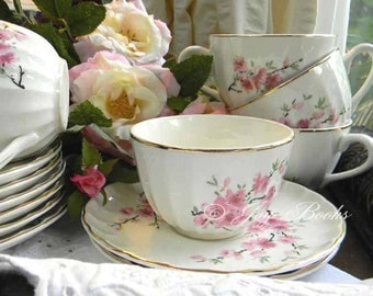 TEA & ROSES Tea Time Note Card