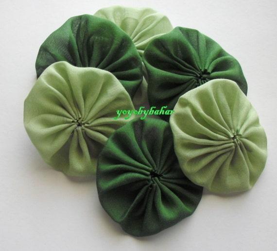 Handmade Green   Cotton Appliques  for Christmas