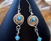 CRAZY BLUE EYES  Earrings
