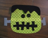 Frankenstein Iron On Applique, You Choose Fabric
