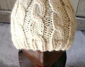 Hat Knitting PATTERN ... PDF file ... Chunky Alpaca Stull Cap