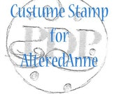 handmade rubber stamp