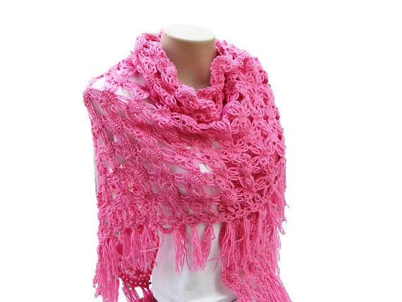 Crochet Patterns Etsy : PDF Tutorial Crochet Shawl Pattern by accessoriesbynez on Etsy