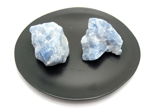 Rough Blue Calcite Chunk