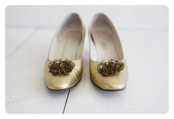 Vintage Golden Girl 1950s Heels