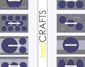 Photoshop Digital Templates (4x6) Circles