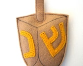 Dreidel Certified Organic Catnip CAT TOY -- Handmade with Eco Felt