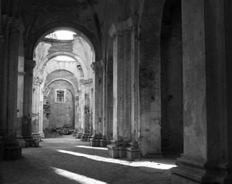 Fine Art Photograph - Guatemala Ruins
