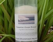 Hawaiian Ocean Breeze Scented Vegetable Protein Deodorant Full Size 2.4 oz