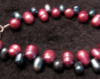 Grape Fringe Bracelet