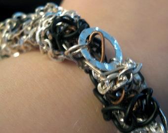Jumbled Cuff Bracelet