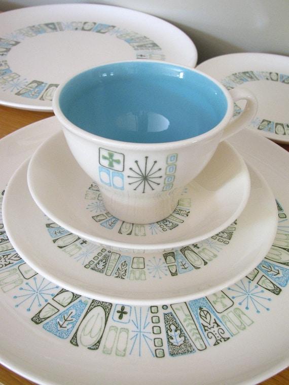 colorcraft jamaica bay dinnerware sixteen piece set