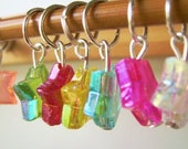 Knitting Stitch Markers SALE-DISCO DARLING