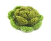 Crochet Flower, Fairytale ,3 D Flower, Green, Emerald, Applique, Spring, Shabby, Salad, Garden,