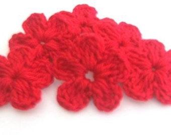 6-pieces Fairytale Crochet Flowers