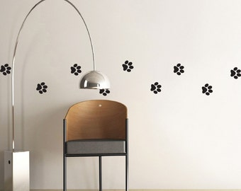 Simple Pawprints - MiniPack Vinyl Wall Decals