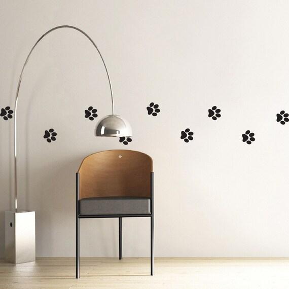 Simple Pawprints - MiniPack Vinyl Wall Decals