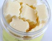 Delicious Sweet Vanilla Solid Sugar Scrub