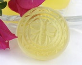 Set of Three Lovely Honey Bee Guest Glycerin Soaps