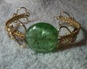 My Hearts Woven Cuff Bracelet