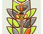 Modern Topiary - 8 x 10