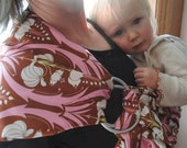 SALE Around the Mulberry Bush- Adjustable Baby Sling Ready To Ship