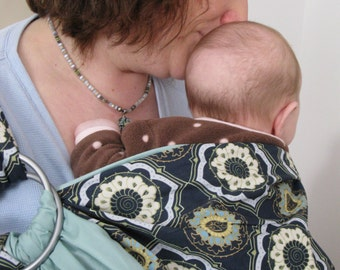 Mariner's Lullaby- Adjustable Baby Sling
