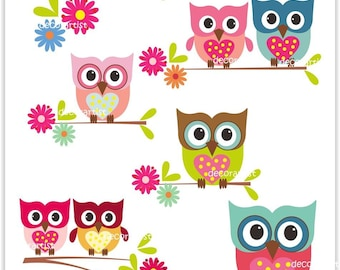 Valentine Owl Clip Art Black And White Images & Pictures - Becuo